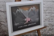 Cycling Posters, Cards & Gifts / Here at The Northern Line studio, we've combined our passion for great graphic art, with our love of cycling. We hope that you enjoy looking at the results! We've got a great range of poster art, cards & gifts available, from The Monuments, to quotes from the cycling greats. You can visit our store in Ulverston, Cumbria to take a look or if you want to shop online hop over to our website. Thanks for your interest.