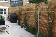 Fences and garden