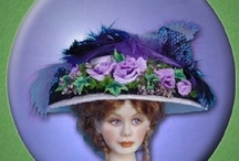"""Dressing 1:12"""" Scale Dollhouse dolls / Hints, tips & ideas for dressing miniature dolls"""
