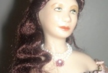 """Doll Diaries @ Sharon's Minis / 1:12"""" Scale Dolls I have made"""