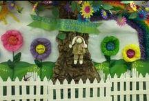 Preschool display ideas / Preschool will never look the same