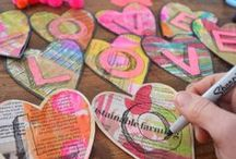 Preschool mothers/fathers/valentines day ideas