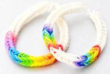 Rainbow Loom fever ! / Les idées sont infinies !