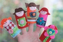 Preschool puppets
