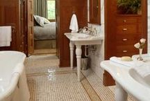 Bungalow Bathrooms / Beautiful, modern Bungalow bathrooms.