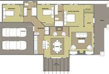 Craftsman Bungalow Floor Plans / Modern Craftsman Bungalow floor plans.