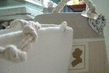 handmade / lavori di cucito in tessuto e altri materiali naturali