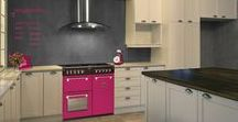 Floral Burst Style / Follow the scent of Floral Burst. Pink, pink everywhere with these cookers and ovens from Belling.
