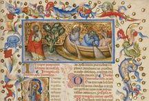 Enluminures du monde / L'enluminure médiévale à travers le temps et le monde...