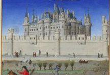 Tours & Chateaux / Tours & Chateaux représentés dans les enluminures