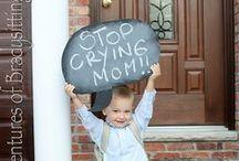 Souriez, c'est la RENTRÉE ! / Nous sommes nombreux à aimer immortaliser le premier jour d'école de nos enfants ! Dans ce board, vous trouverez des idées pour le faire de manière originale ;-)