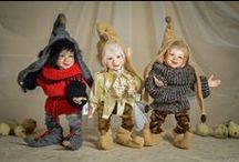 Custom made BJD dolls / Custom made, one of a kind, ball jointed porcelain dolls by LegendLand Dolls
