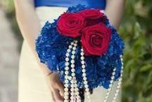 [Wedding] bouquets blue