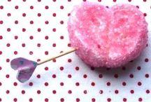 Valentijnsdag / Leuke gerechten en lekkers om te maken met kinderen voor Valentijnsdag.