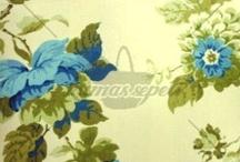 Baskılı Pamuklu Kumaşlar / Çiçekli, Ekoseli, Çizgili Pamuklu Kumaşlar