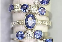 BLUE AND WHITE /  From blue jeans to sapphires, blue and white are two color combinations that are universal in appeal. Nothing beats a classic! / by SocialSchool101 .com