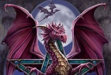 Draconis Occidentalis / Dragons, wyverns, drakes & wyrms