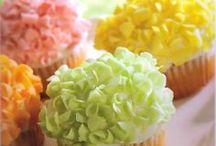 CUPPY CAKES / Who can resist cupcakes? We can't think of a single person, can you? Good things come in small packages and cupcakes are proof of delicious goodness. Indulge in just one small package of sumptuous cake combined with a creamy sugar  topping and placed in a decorative wrapper. We think cupcakes are a good idea...anytime! / by SocialSchool101 .com
