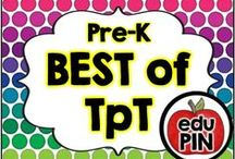 Preschool - Best of TpT / Teachers Pay Teachers (TpT) is by far one of the best teacher resource sites I've ever seen. My goal is to bring TpT authors together to showcase their awesome resources! RULES: You can pin up to 3 appropriate pins per day. Use a 1:3 pin ratio (1 paid product for every 3 freebies or ideas). Limit repins to once a month. Also, please do not invite to this board.