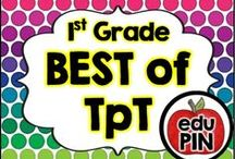 1st Grade - Best of TpT / Teachers Pay Teachers (TpT) is by far one of the best teacher resource sites I've ever seen. My goal is to bring TpT authors together to showcase their awesome resources!  RULES: You can pin up to 3 appropriate pins per day. Use a 1:3 pin ratio (1 paid product for every 3 freebies or ideas). Limit repins to once a month. Also, please do not invite to this board.