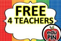 FREEBIES for Teachers / Welcome teachers! We hope you find great resources for your classroom here. RULES: You can pin up to 3 appropriate pins per day. Pin freebies & ideas only (No paid products). Limit repins to once a month. Also, please do not invite to this board.