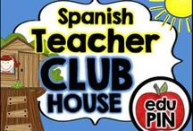 Spanish Teacher Clubhouse / Welcome to the Spanish Teacher Clubhouse. My goal is to fill this board with fun & engaging freebies, activities, games, centers, printables, crafts, snacks & more! RULES: You can pin up to 3 appropriate pins per day. Use a 1:9 pin ratio (1 paid product for every 9 freebies or ideas). Limit repins to once a month. Also, please do not invite to this board.