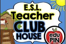 ESL Teacher Clubhouse / Welcome to the ESL Teacher Clubhouse. My goal is to fill this board with fun & engaging freebies, activities, games, centers, printables, crafts, snacks & more! RULES: You can pin up to 3 appropriate pins per day. Use a 1:9 pin ratio (1 paid product for every 9 freebies or ideas). Limit repins to once a month. Also, please do not invite to this board.