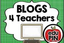 Blogs 4 Teachers / As an elementary teacher I'm always looking for new and exciting educational blogs to follow. My goal is to fill this board with awesome elementary blogs and blog posts! RULES: You can pin up to 3 appropriate pins per day. Use a 1:9 pin ratio (1 paid product for every 9 freebies or ideas). Limit repins to once a month. Also, please do not invite to this board.  / by eduPIN