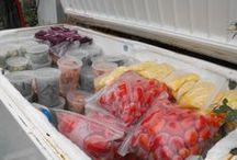 Freezer Food .