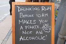 Village Blackboard Signs
