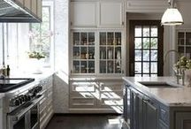 KITCHENS I HAVE LOVED / It is true that kitchens are the heart of the home. Happy and lasting memories are created each and every day. These are a few of the kitchens we have loved. / by SocialSchool101 .com