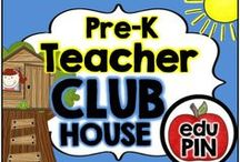 Preschool Teacher Clubhouse / Welcome to the Preschool Teacher Clubhouse. I hope you find great resources for your classroom here. RULES: You can pin up to 3 appropriate pins per day. Use a 1:9 pin ratio (1 paid product for every 9 freebies or ideas). Limit repins to once a month. Also, please do not invite to this board.