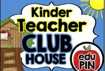 Kindergarten Teacher Clubhouse / Welcome to the Kindergarten Teacher Clubhouse. My goal is to fill this board with fun & engaging freebies, activities, games, centers, printables, crafts, snacks & more! RULES: You can pin up to 3 appropriate pins per day. Use a 1:9 pin ratio (1 paid product for every 9 freebies or ideas). Limit repins to once a month. Also, please do not invite to this board.  / by eduPIN
