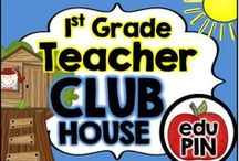 1st Grade Teacher Clubhouse / Welcome to the 1st Grade Teacher Clubhouse. My goal is to fill this board with fun & engaging freebies, activities, games, centers, printables, crafts, snacks & more! RULES: You can pin up to 3 appropriate pins per day. Use a 1:9 pin ratio (1 paid product for every 9 freebies or ideas). Limit repins to once a month. Also, please do not invite to this board.