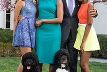 OBAMA AND HIS FAMILY / Images of Obama describe about his love, concerns and interests in life.