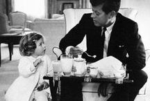J F K and FAMILY / Photos of JFK and his family