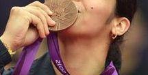 SAINA NEHWAL / My favorite Badminton player, Olympic Medalist !