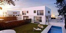 Los Valles - Sierra Nevada (Guadalajara) / Chalets Pareados de 5 dormitorios con amplia bodega en parcelas desde 330m2. Grandes espacios a tu medida, diseña la distribución y elige acabados.