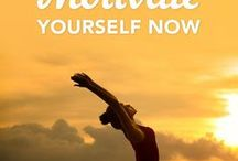 How to Motivate Yourself / We all need a little help with motivation at times. This board offers ideas that will help you find your drive in all areas of life: health, fitness, business and even relationships.