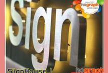 SIGNhouse / signs indoor and outdoor, vehicle signage, motorcycle decals,