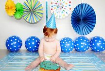 Cake Smash! / Cake smash photography pose ideas and inspiration. Curated by SEO Specialist and lifestyle blogger, Shannon Clarke.