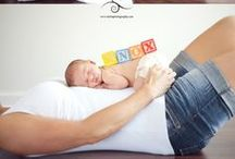 How did they fit??? / pregnancy, newborn, photos, pregnancy photos, creative pregnancy photos