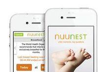 NuuNest App / baby app, iPhone, app by nurses, newborn, breastfeeding, IBCLC, newborn baby, birth, pregnant, new mom, first baby, best apps, top apps,