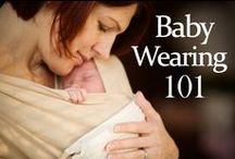 Babywearing / Babywearing, baby wearing, sling, attachment parenting, wearing baby, newborn, baby, newborn baby