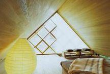 Attic Ideas / #attic #bedroom #interior #ideas #loft #mansard #cottage #summerhouse #чердак #спальня #дача