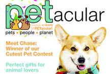 Read us! / by PETacular Magazine