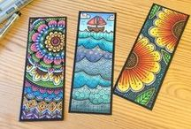Zentangle - bookmarks