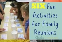 Family Activities - Multi-Family Events and Activities / From family reunions locally and at Disney to a weekend staycation and family BBQs, this board features neat activities, fun ideas, and budget friendly events for the entire family (extended family).