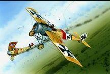 Aircrafts WW I