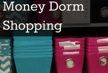 Get Organized - Dorm Room Decorating Tips and List For Parents and Students (Organizing Tips) / Many of our blogger friends from across the nation are creating their university and college dorm room (residence hall) shopping lists online and for the stores in their city! Do not forget the XL sheets, USB charging devices/stations, etc.!